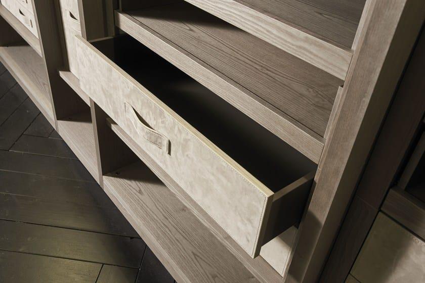 Frontale cassetto rivestito in nabuk