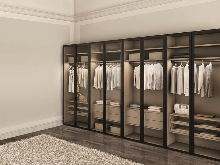Sectional wardrobe ATLANTE WIND by EmmeBi