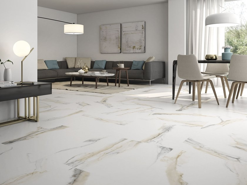 Atlantis Gold Porcelain Wallfloor Tiles Atlantis Collection By