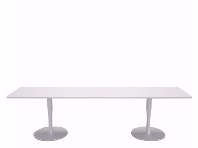 Rectangular coffee table ATLAS TABLE - Q by Alias