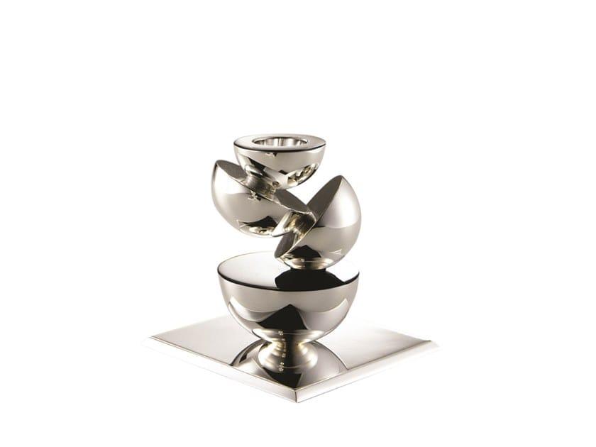 Silver candlestick ATMA by ZANETTO