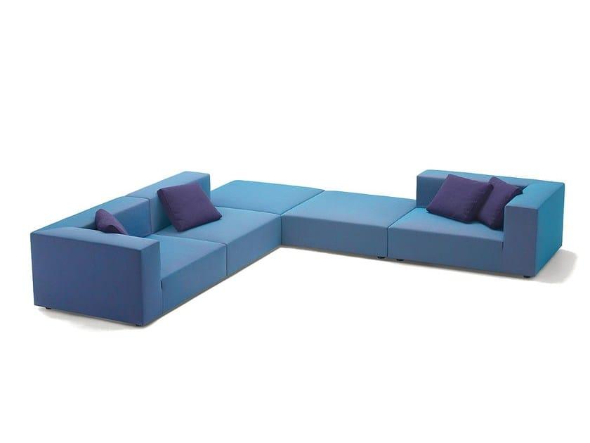 Modular sofa with removable cover ATOLLO MINI by paola lenti