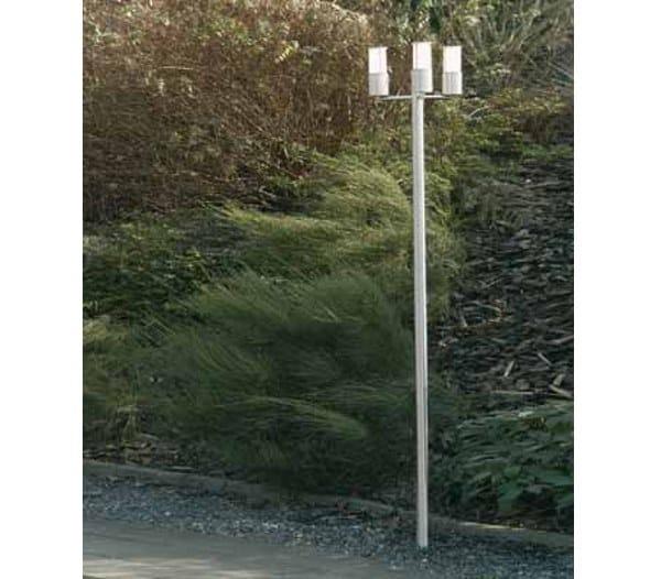 Stainless steel garden lamp post ATREX 100T by BEL-LIGHTING
