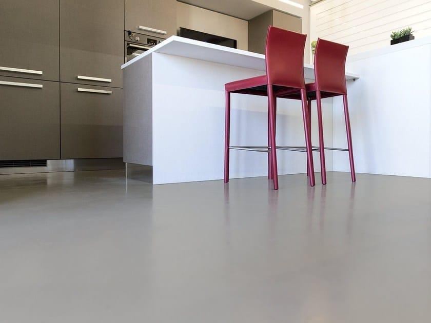 Continuous flooring ATRIAFLOOR REVOLUTION by COLORIFICIO ATRIA