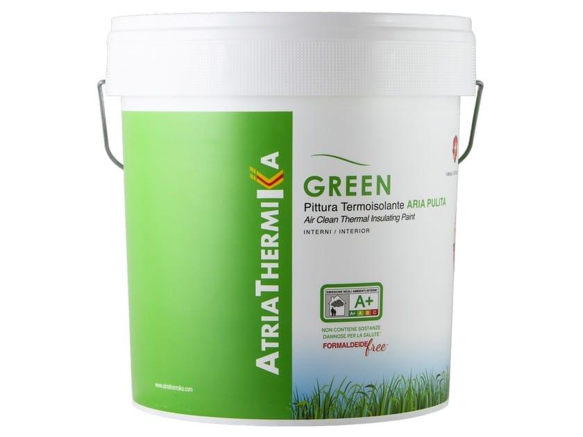 Insulating or inhibiting varnish ATRIATHERMIKA GREEN by COLORIFICIO ATRIA