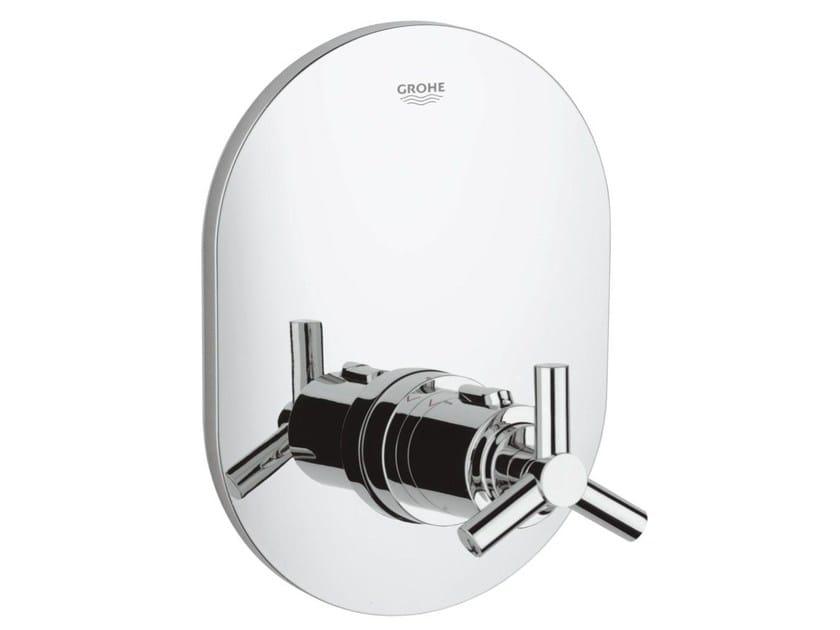 Miscelatore termostatico per doccia monocomando con piastra ATRIO CLASSIC YPSILON | Miscelatore termostatico per doccia monoforo by Grohe