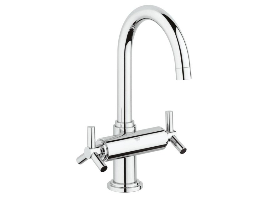 1 hole washbasin tap with adjustable spout ATRIO CLASSIC YPSILON SIZE L   Countertop washbasin tap by Grohe