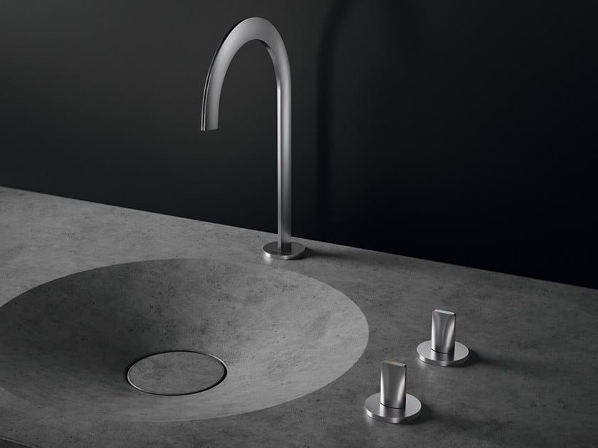 Rubinetto per lavabo da piano con rosette separate ATRIO ICON 3D | Rubinetto per lavabo da piano by Grohe