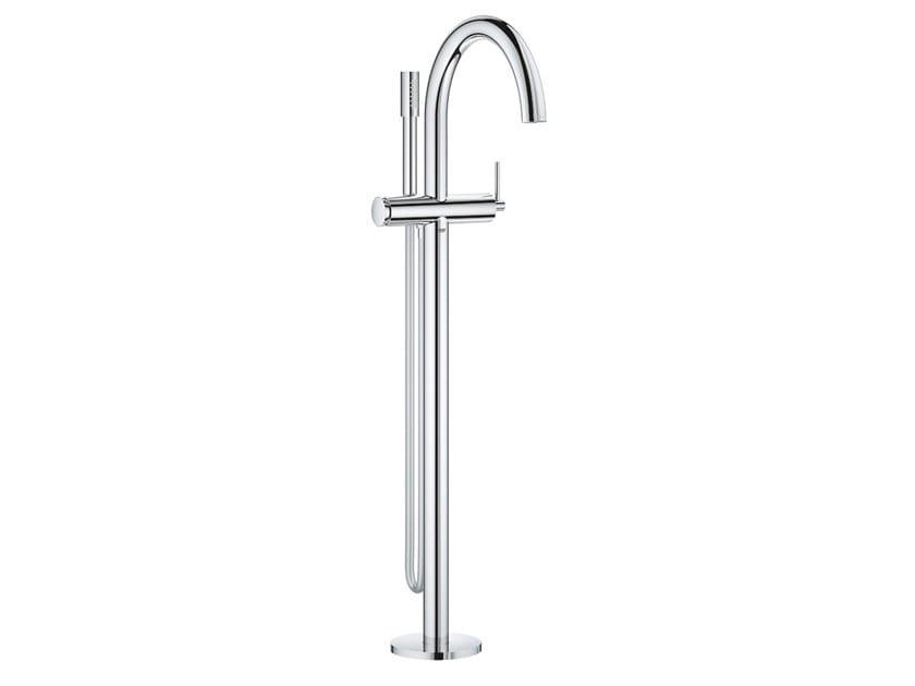 Floor standing bathtub mixer with hand shower ATRIO NEW | Floor standing bathtub mixer by Grohe