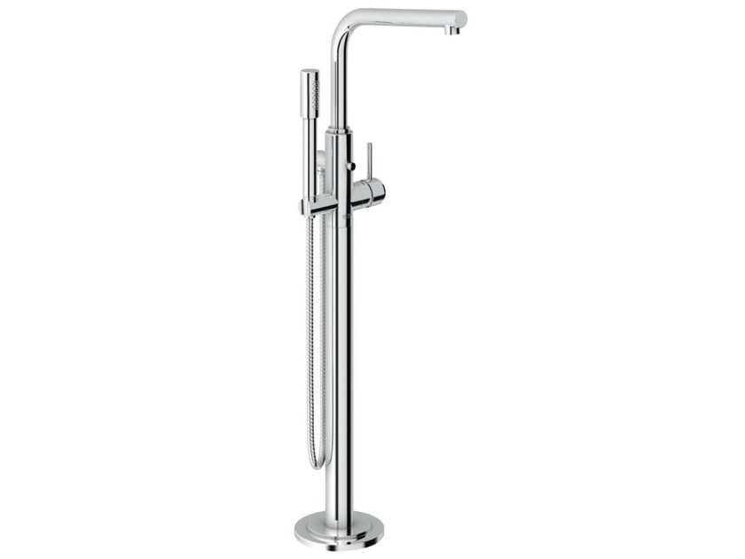 Single handle bathtub /shower mixer with diverter ATRIO ONE 7° | Floor standing bathtub mixer by Grohe