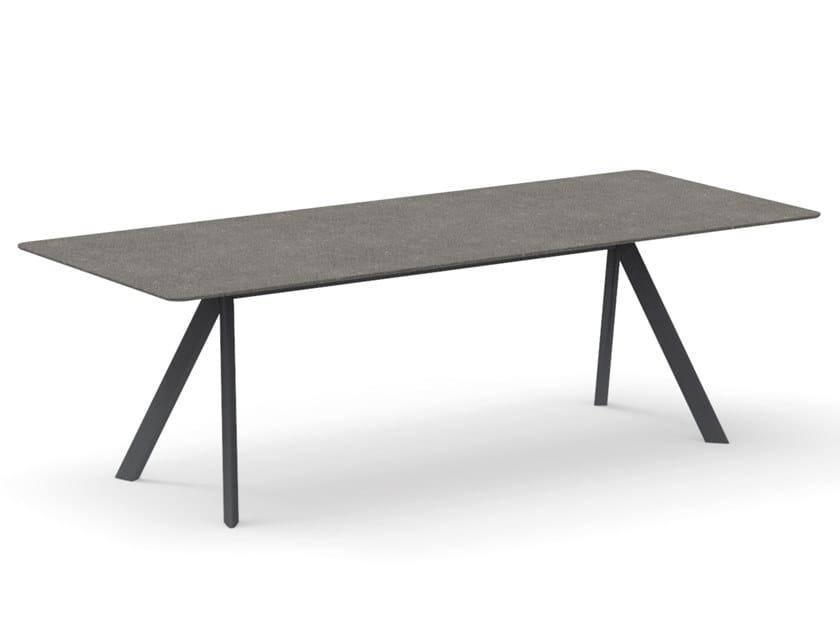 Rectangular garden table ATRIVM   Rectangular table by EXPORMIM