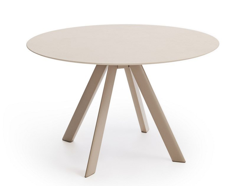 Round garden table ATRIVM | Round table by EXPORMIM