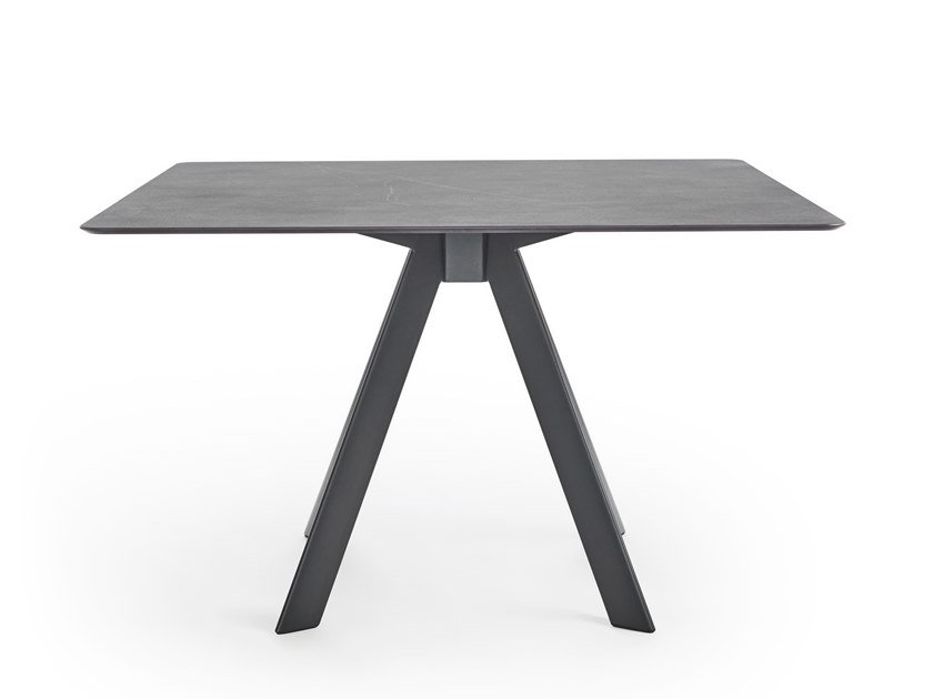 Square garden table ATRIVM | Square table by EXPORMIM