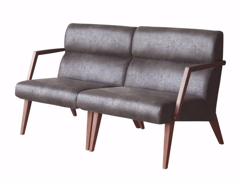 Leather small sofa ATTESA 02 | Small sofa by Cizeta L'Abbate