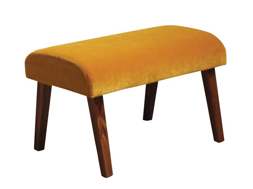 Fabric footstool ATTESA by Cizeta L'Abbate