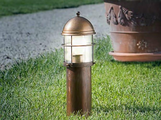 Metal bollard light ATTILA | Bollard light by Aldo Bernardi