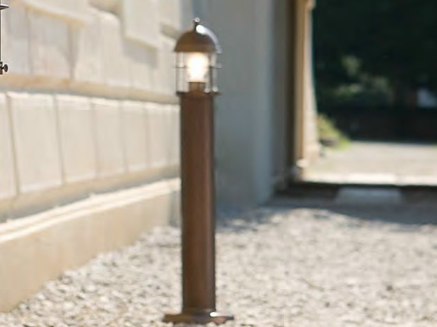 Metal bollard light for Public Areas ATTILA | Bollard light for Public Areas by Aldo Bernardi