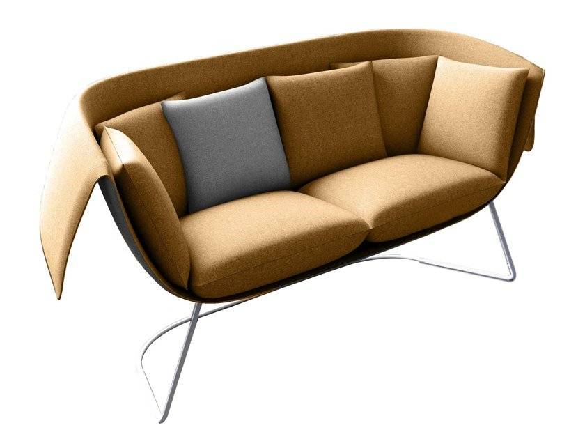 Soundproofing sofa AUDREY by CUF Milano