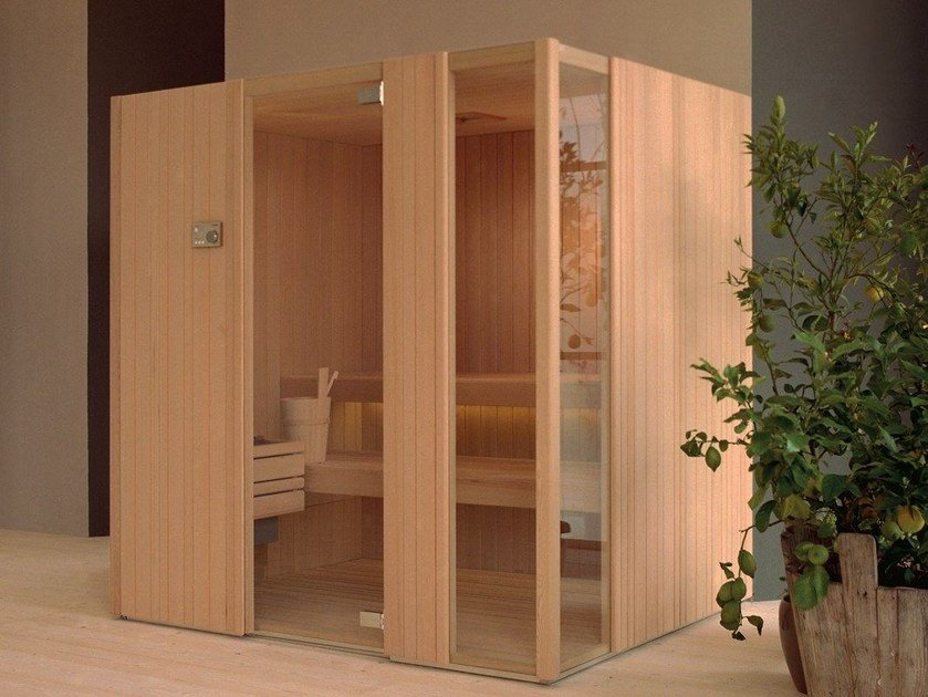 Finnish sauna AUKI by EFFEGIBI