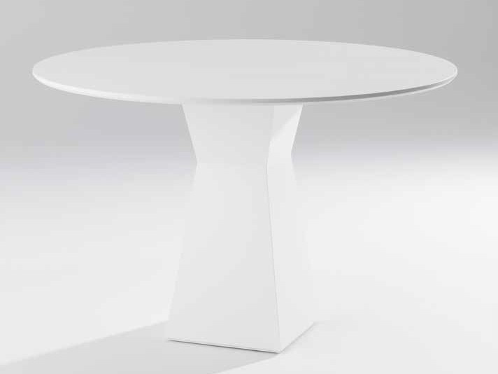 Round wood veneer table AUPA | Table by Gamadecor