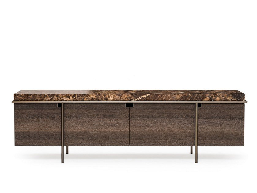 Sideboard with doors AURA by Arketipo
