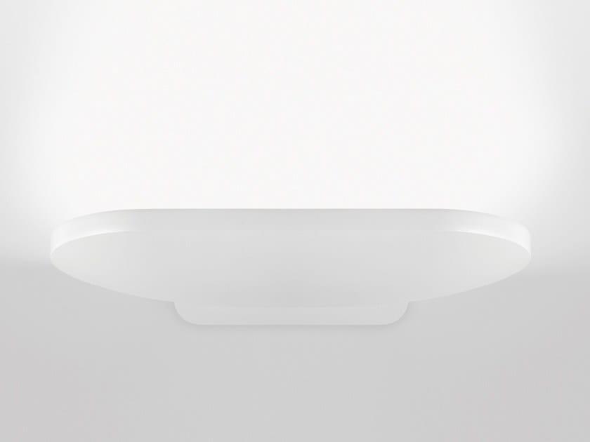 Aluminium wall lamp AURAE R7S by Arkoslight