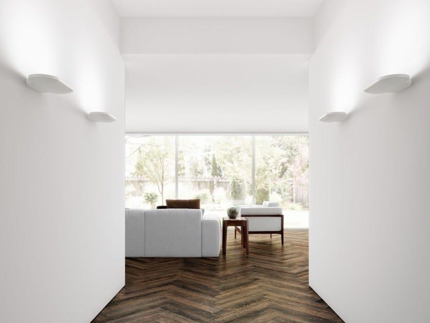Aluminium wall lamp aurae r s by arkoslight design rubén saldaña