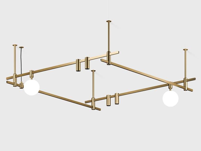 Illuminazione a binario AUROOM LIGHTING SYSTEM by Centrsvet
