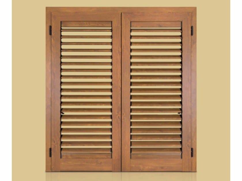 Wooden shutter AURORA ADJUSTABLE by Cos.Met.