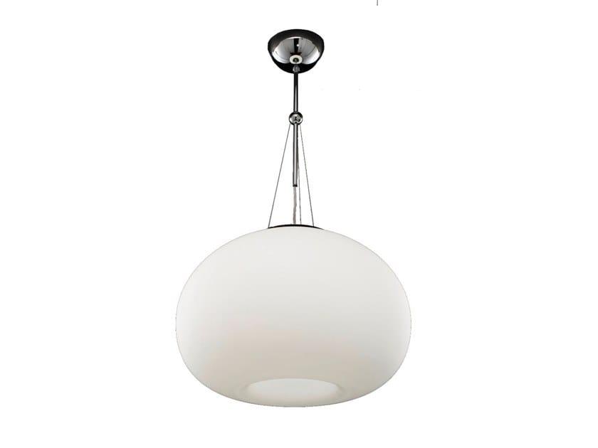 Lampada a sospensione in vetro di murano aurora lampada a