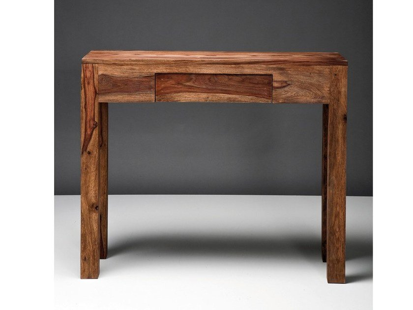Wooden console table with drawers AUTHENTICO | Console table by KARE-DESIGN
