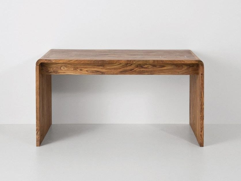 Rectangular wooden writing desk AUTHENTICO | Writing desk by KARE-DESIGN