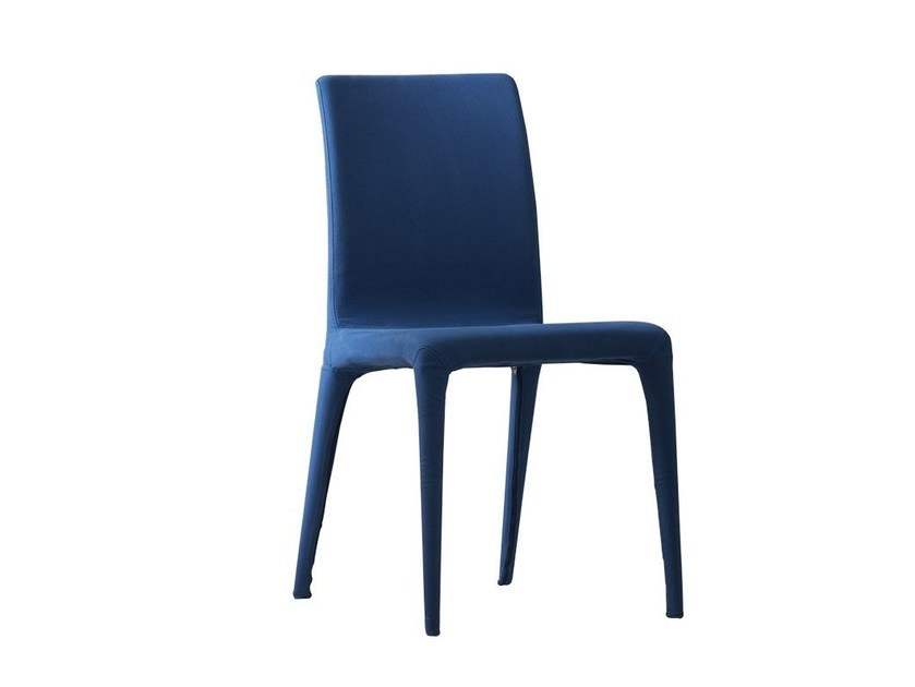Upholstered fabric chair AVA by Chaarme Letti