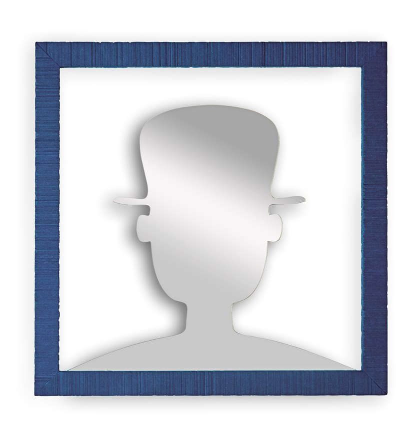 Square wall-mounted mirror AVATAR | Square mirror by ARKOF LABODESIGN