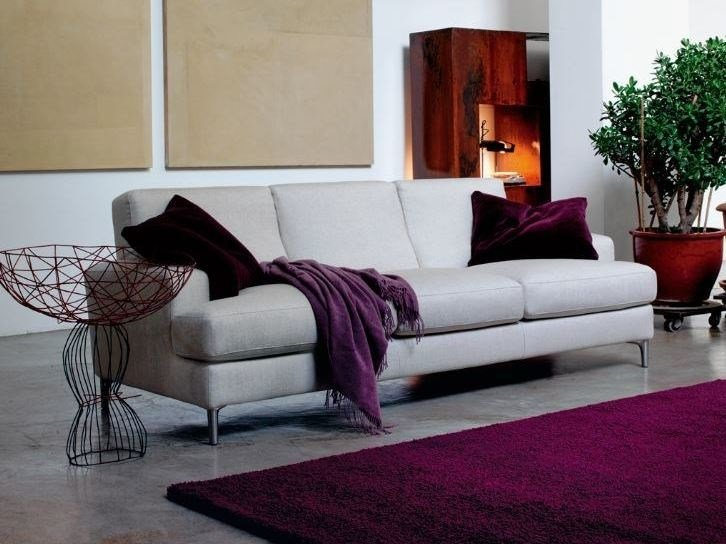 Fabric sofa with removable cover AVEDON by Verzelloni