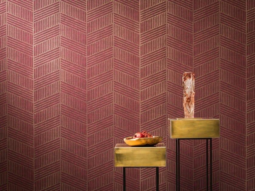Nonwoven wallpaper AVENUE CHEVRON by Omexco