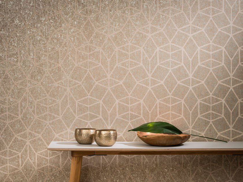 Nonwoven wallpaper AVENUE DIAMOND by Omexco