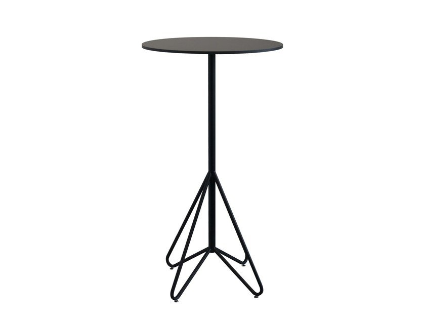 Round high table AVENUE | High table by Novel Cabinet Makers