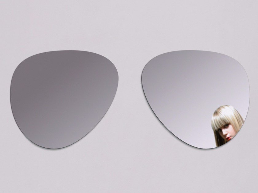 Wall-mounted mirror AVIATOR by Moustache
