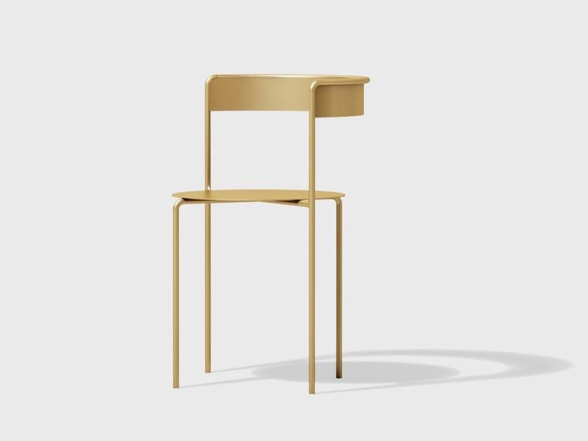 Brass chair AVOA CHAIR | Brass chair by Matter Made