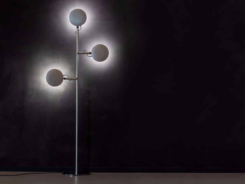 LED adjustable floor lamp AVVENI FLOOR 3 by Sattler