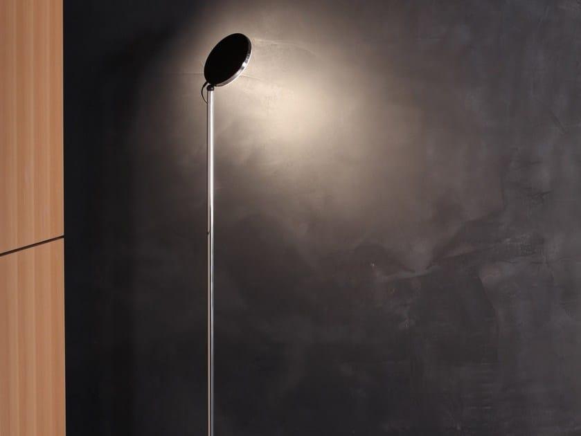 LED aluminium floor lamp with dimmer AVVENI FLOOR by Sattler