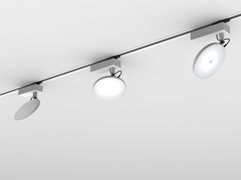 LED metal Track-Light AVVENI 3-PHASE-TRACK by Sattler