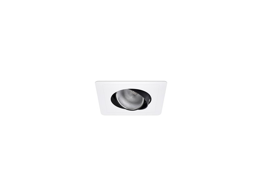 LED recessed spotlight AXIS SQ /E 1 by INDELAGUE | ROXO Lighting