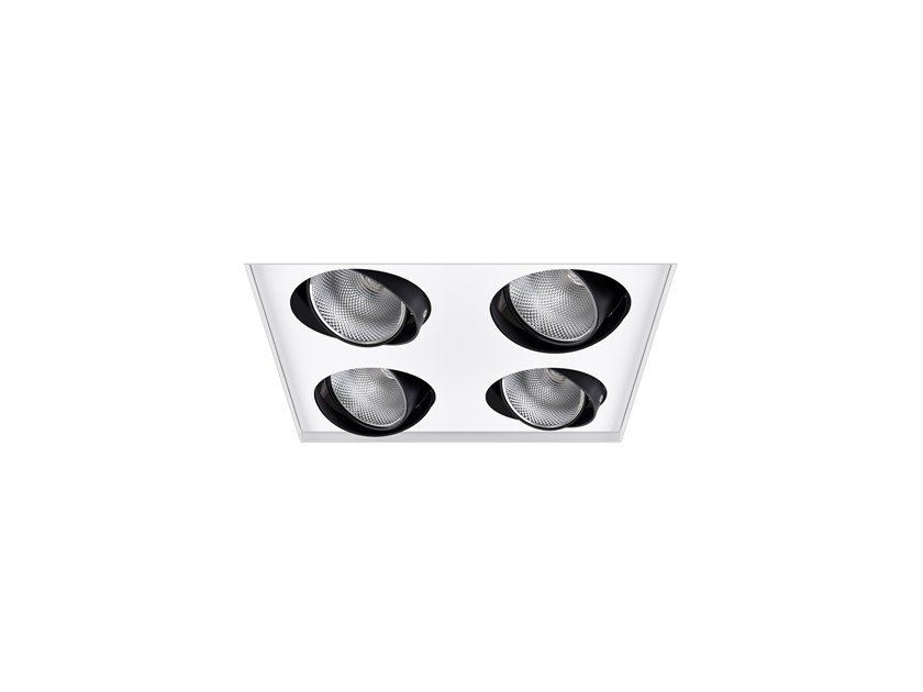 LED adjustable recessed spotlight AXIS SQ /T 4 by INDELAGUE | ROXO Lighting