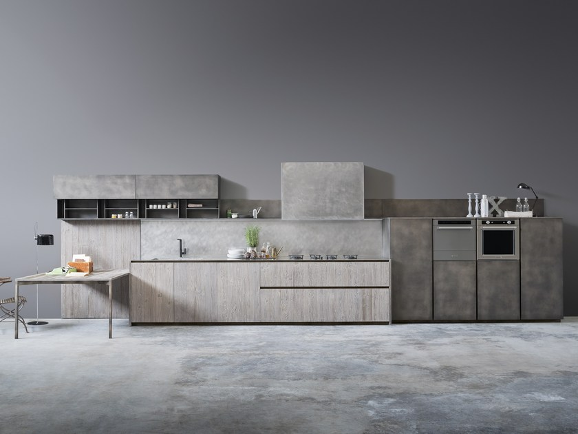 Cocina lineal AXIS by Zampieri Cucine