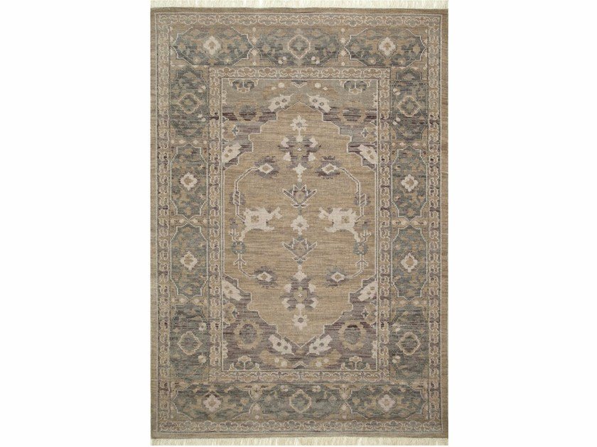 Wool rug AZRA LCA-2352 Silver/Medium Gray by Jaipur Rugs