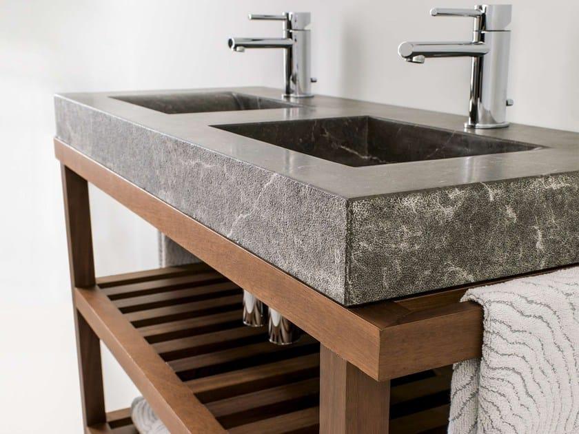 Consolle lavabo doppio AZRAMA VANITY | Mobile lavabo doppio by L'antic Colonial