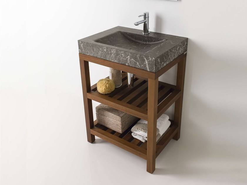 Console sink AZRAMA VANITY | Single vanity unit by L'antic Colonial