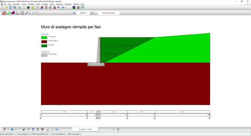 Modellatore FEM Geotecnica AZTEC FEM GT by Aztec Informatica